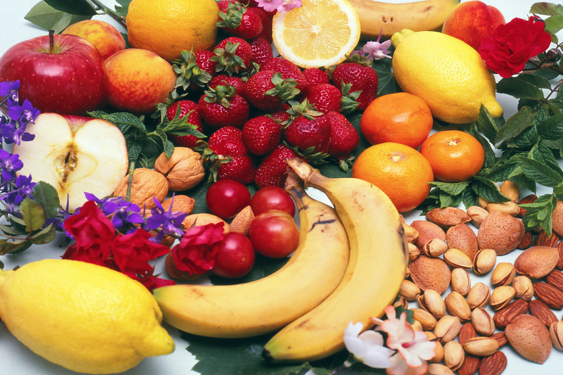 Diététique chinoise couleurs fruits